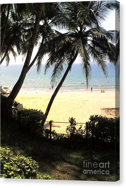 South Beach - Miami Canvas Print