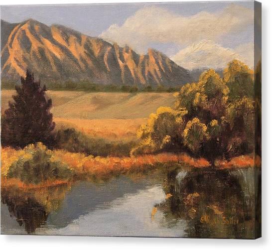 South Boulder Creek Canvas Print