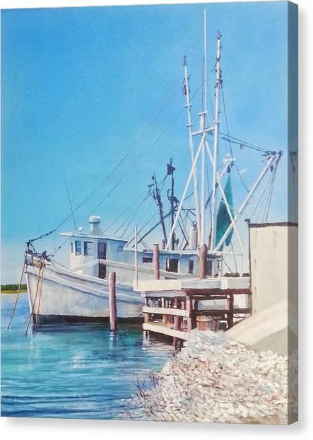 South Carolina Oysters Canvas Print