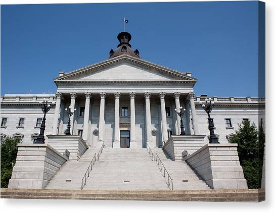 South Carolina State Capital Building Canvas Print