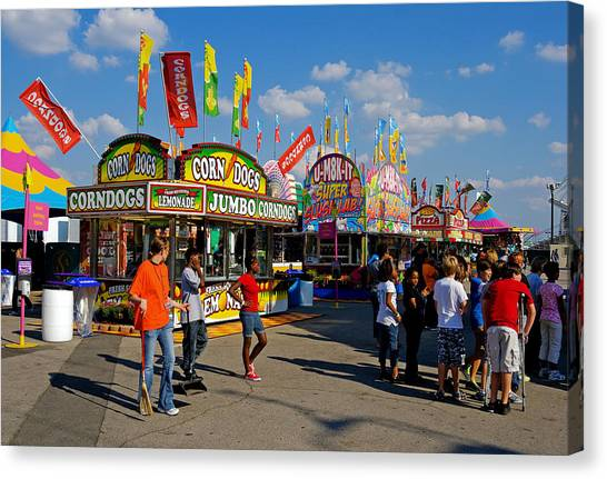 South Carolina State Fair Canvas Print