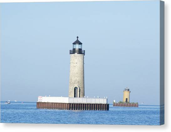 South Channel Lights Canvas Print