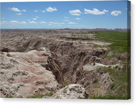 South Dakota Badlands Canvas Print