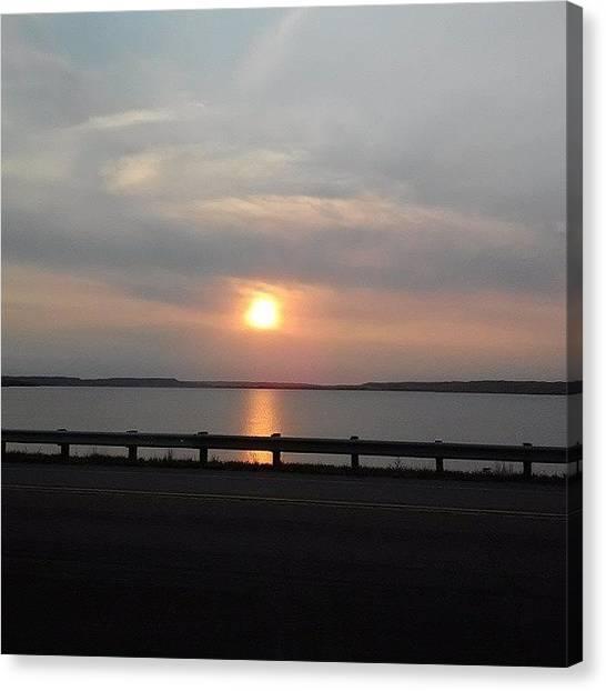 South Dakota Canvas Print - South Dakota Sunset by Jesse Peterson