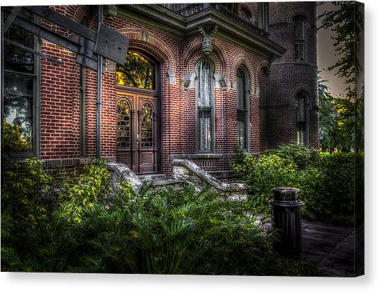 University Of Florida Canvas Print - South Entry 2 by Marvin Spates