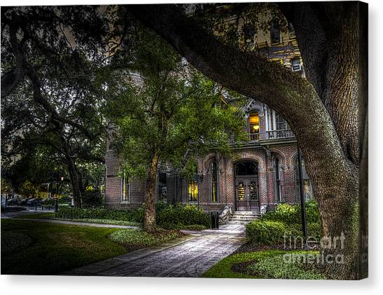 University Of Florida Canvas Print - South Entry by Marvin Spates