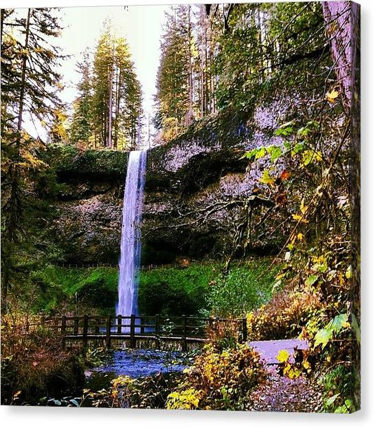 Rome Canvas Print - #south #falls 177 Feet Nice Hiking On by Rome Repcak