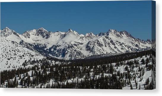 South Gore Range  Canvas Print