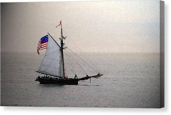 South Haven Sailing Canvas Print