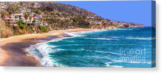 South Laguna Beach Coast Canvas Print