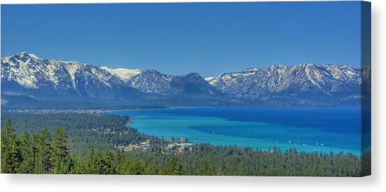 South Lake Tahoe View Canvas Print