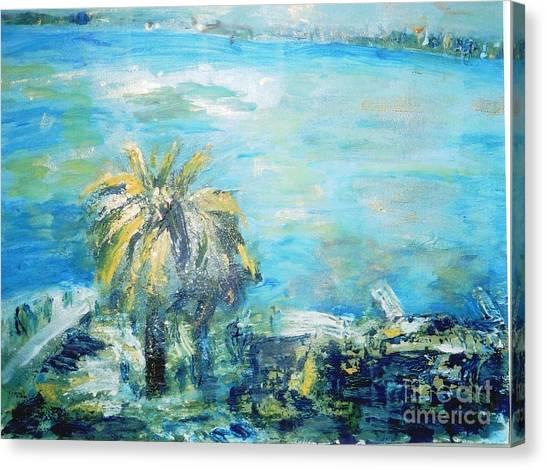 South Of France    Juan Les Pins Canvas Print