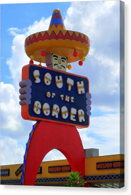 South Of The Border 10 Canvas Print