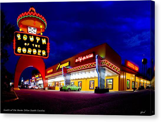 South Of The Border Canvas Print