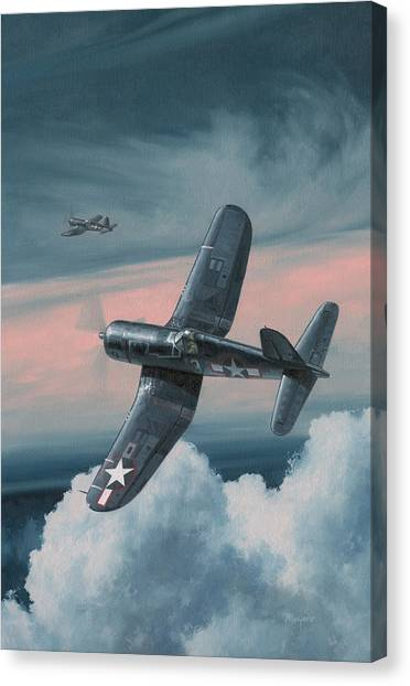 Aviators Canvas Print - South Pacific Hot Rods by Wade Meyers