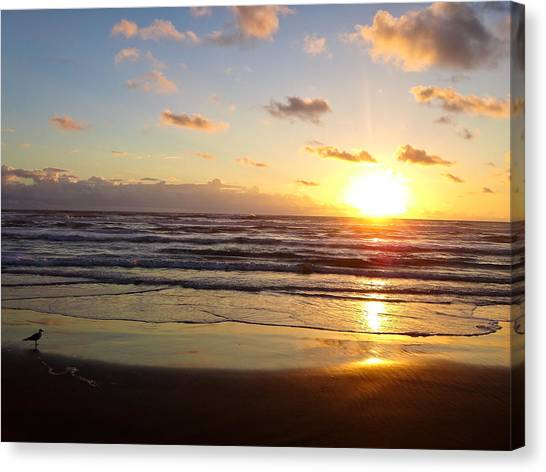 South Padre Island Sunrise Canvas Print