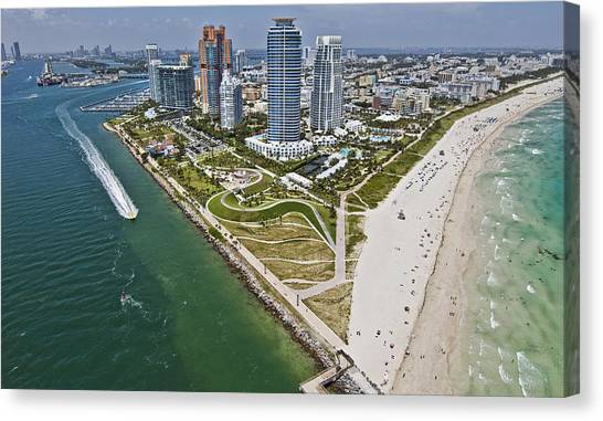 South Pointe Park Canvas Print