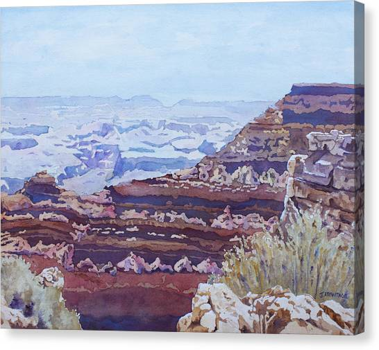 Mountain West Canvas Print - South Rim Color by Jenny Armitage