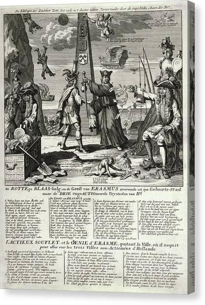 Economics Canvas Print - South Sea Company by Library Of Congress