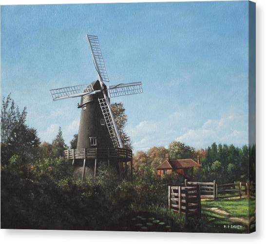 Southampton Bursledon Windmill Canvas Print