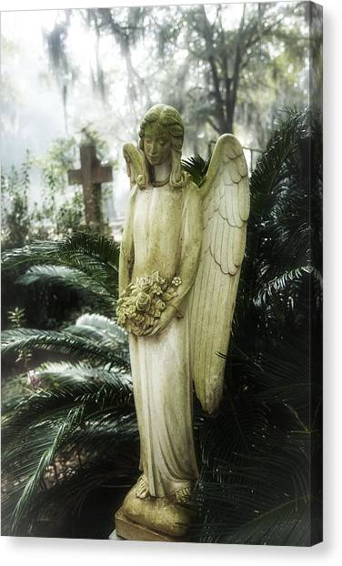 midnight in the garden of good and evil canvas print southern angel iii by john - Midnight In The Garden Of Good And Evil Statue