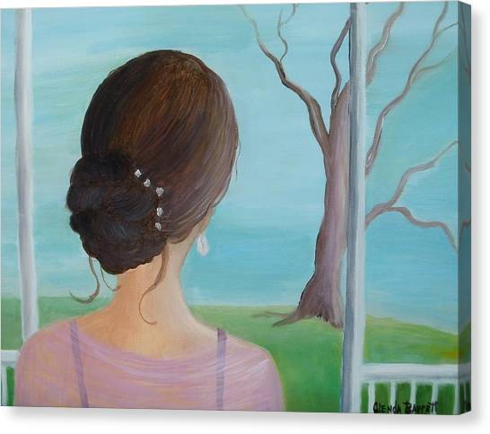Southern Belle Canvas Print by Glenda Barrett
