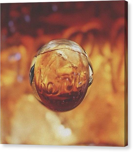 Iced Tea Canvas Print - Southern Charm by Mackenzie Martin