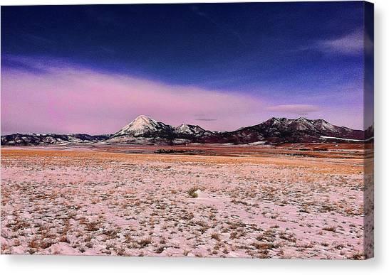 Southern Colorado Mountains Canvas Print