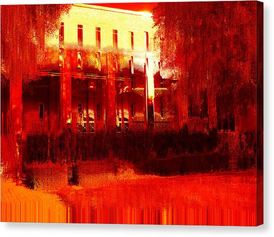 Southern Extremes Canvas Print by Wendy J St Christopher