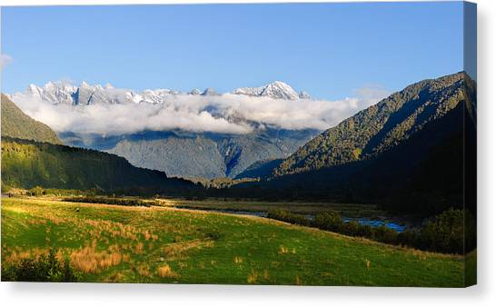 Fox Glacier Canvas Print - Southern Highlands by Jeffrey Banke