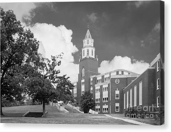 Southern Illinois University Canvas Print - Southern Illinois University Pulliam Hall by University Icons