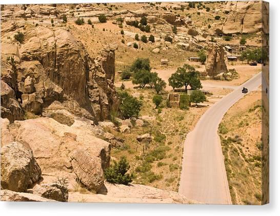 Southern Mesa View Canvas Print