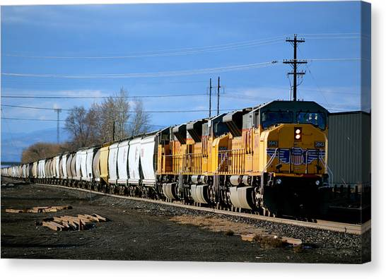 Southern Pacific Loading Up Canvas Print