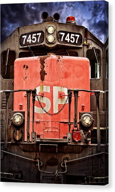 Pacific Division Canvas Print - Southern Pacific Power by Ken Smith