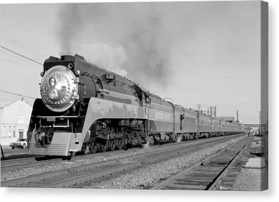 Southern Pacific Train In Texas Canvas Print