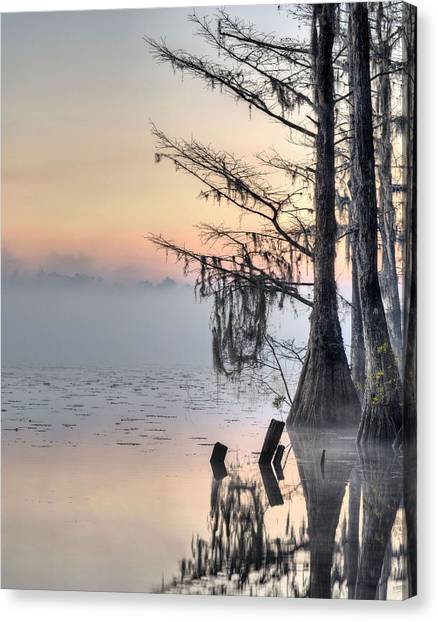 Southern Sunrise  Canvas Print by JC Findley