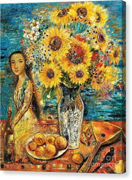 Mandolins Canvas Print - Southern Sunshine by Shijun Munns