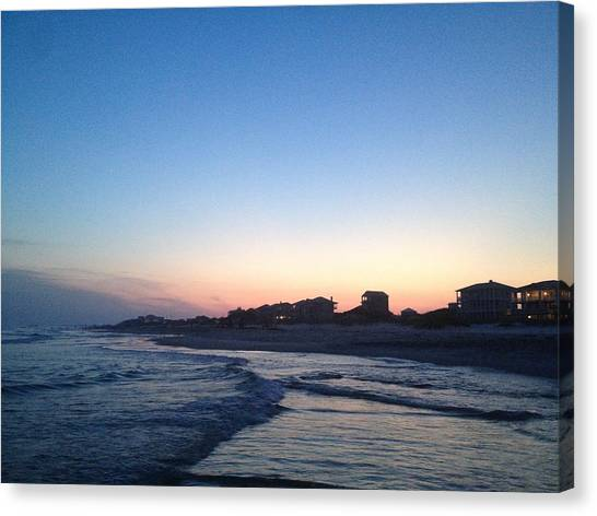 Southern Waters II Canvas Print