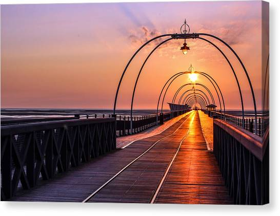Southport Pier Canvas Print by Paul Madden