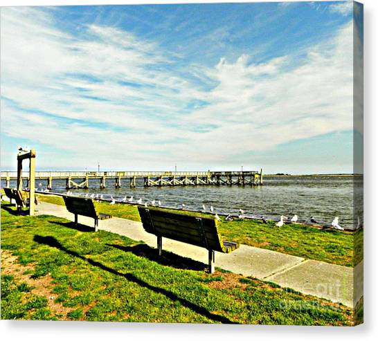 Southport Waterfront Canvas Print