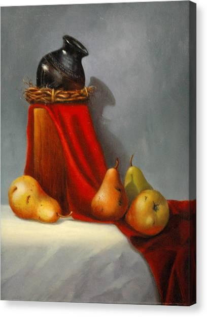 Southwest Banquet Canvas Print by Rich Kuhn