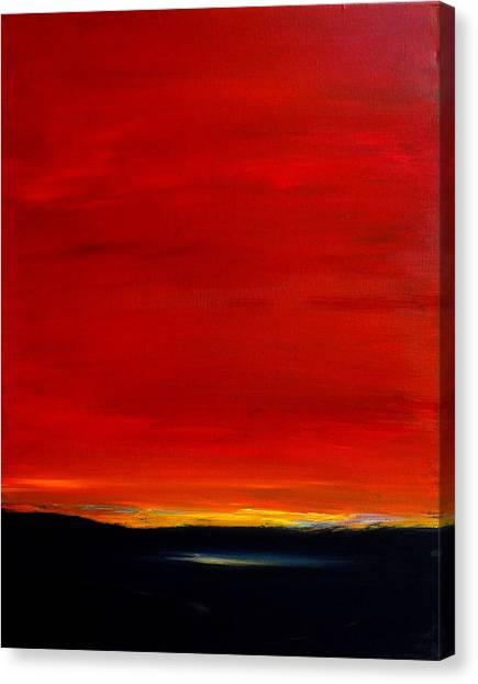 Southwest Desert Sunrise Canvas Print