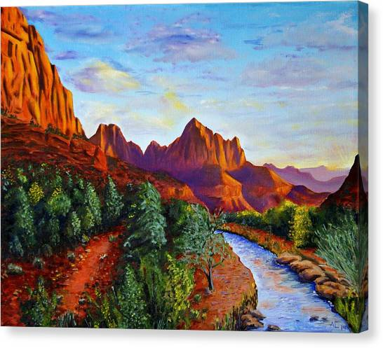 Southwest Evening Canvas Print