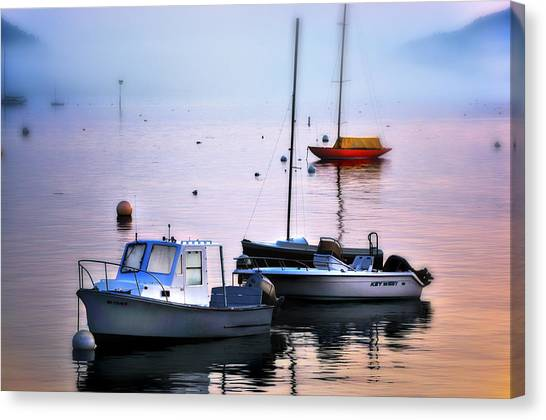 Southwest Harbor View - Mount Desert Island Canvas Print by Expressive Landscapes Fine Art Photography by Thom
