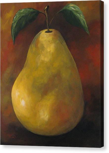 Southwest Pear II Canvas Print