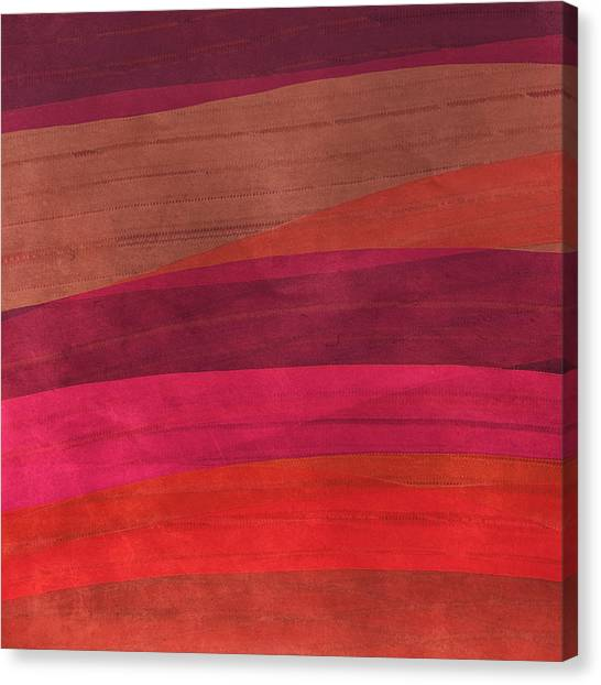 Southwestern Sunset Abstract Canvas Print