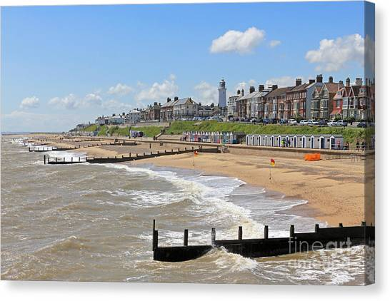 Southwold Beach 2 Canvas Print