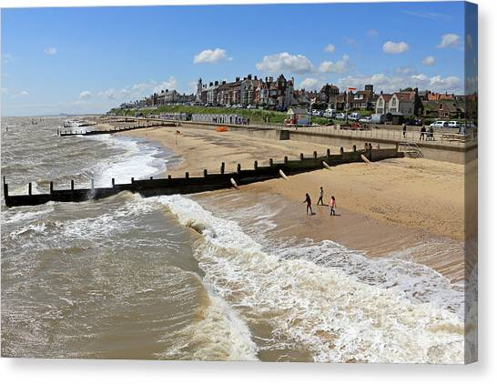 Southwold Beach Canvas Print