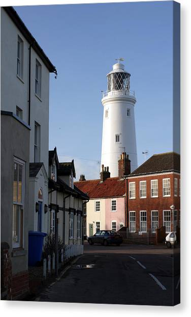 Southwold Lighthouse Canvas Print by Tony Webb
