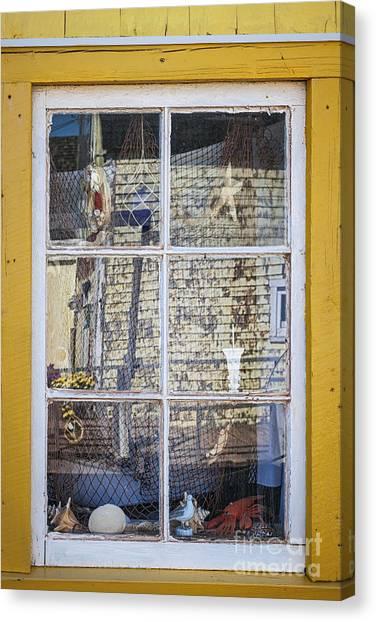 East Village Canvas Print - Souvenir Store Window by Elena Elisseeva